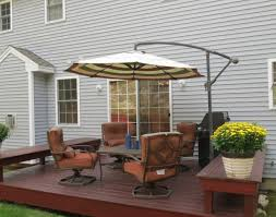 Patio Table With Umbrella Hole Table Surprising Design For Patio Furniture With Umbrella