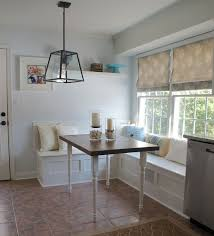 breakfast nook with storage bench ideas house design and office