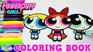 powerpuff girls coloring book blossom bubbles show episode