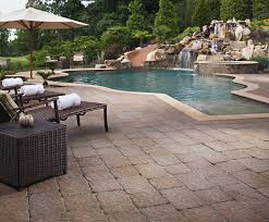 How Much Is A Flagstone Patio How To Get Rid Of Moss From Pavers Patios Driveways Install