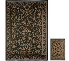 Classic Accessories Veranda Round Square - outdoor rugs u2014 rugs u0026 mats u2014 for the home u2014 qvc com