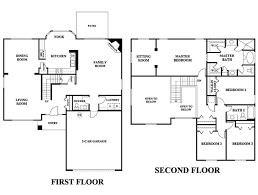 two story house plan stunning 5 bedroom house plans 2 story photos best inspiration