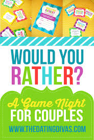 couples would you rather game night gaming and plays