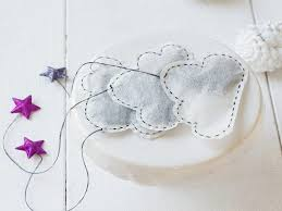 heart shaped tea bags sew cloud shaped tea bags