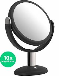 amazon com vremi 10x magnified vanity mirror 7 inch round
