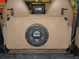 jeep wrangler speaker box in seat subwoofer box for 97 02 jeep wrangler add bass without