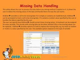 xl miner data utilities