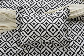 Black And White Lace Comforter 6pc Black And White Diamond Circle Bedding Set Includes Comforter