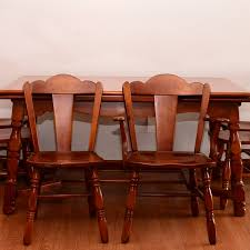 Kentucky Dining Table And Chairs Vintage Tables Antique Tables And Retro Tables Auction In