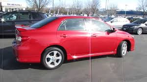 2012 toyota corolla s for sale 2012 toyota corolla s with factory warranty for sale at