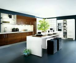 Contemporary Kitchen Decorating Ideas by Kitchen Cabinets Glorious Trio Hanging Lamp Installed Above