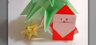 How To Make A Origami Santa - how to fold a simple origami santa claus for 皓