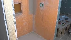 schluter shower kit waterproofing membrane installation review