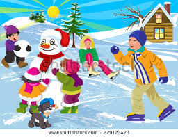 clipart of winter season clip library