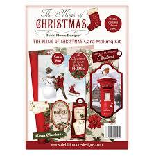 Card Making Magic - the magic of christmas card making kit debbi moore designs