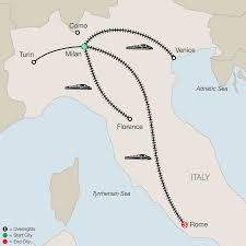 Map Of Italy With Cities by Rome Tours With Globus Italy Tours