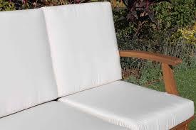 Sofa Cushion Replacement by Deep Seat Teak Set U2013 5 Seat Including Full Sunbrella Cushions