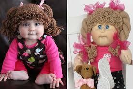 Cabbage Patch Kids Halloween Costume Amanda Lillie U0027cabbage Patch Kids U0027 Wigs Babies
