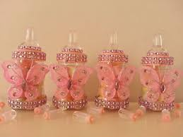 baby shower bottle favors 12 pink fillable butterfly bottles baby shower favors prizes girl