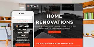 renovation theme renovation interior design wordpress theme themes codegrape
