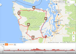 Washington State Parks Map by Bikepacking Around The Olympic Peninsula U2013 Whitney Dawson U2013 Medium