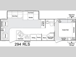 2006 keystone cougar floor plans used 2006 keystone rv cougar 295rls fifth wheel at rv country