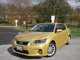 lexus yellow 2012 lexus ct200h if you aren u0027t into the looks of the prius