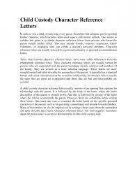 sample declaration letter for child custody best business template