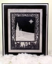 sue wilson festive collection christmas scene mini background