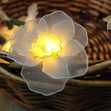 Battery Operated Fairy Lights by White Daffodil Fairy Lights Flowerglow Co Uk