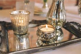 mercury tea light holders mini mercury silver tea light holder by the wedding of my dreams