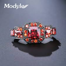 aliexpress buy modyle new fashion wedding rings for aliexpress buy modyle new square cut 9 colors zircon fashion