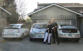 nissan leaf user manual lucky family first to get a chevy volt and a nissan leaf