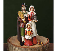 thanksgiving pilgrim figurines 10 inch unbranded resin thanksgiving fall décor figurines ebay