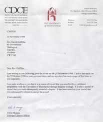 Bible College Acceptance Letter 7b uk revival intercessions