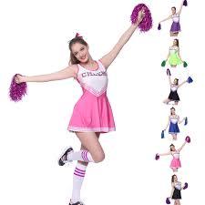 Cheerleader Halloween Costumes Adults Womens Cheerleader Ebay