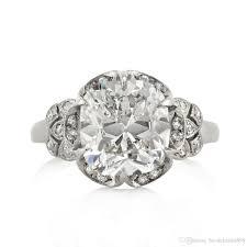 mine cut engagement ring 2017 broumand 5 40ct mine cut vintage engagement