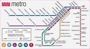 san jose light rail map san francisco muni metro light rail socalthemeparks com