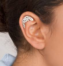 stud cartilage piercing shirli s jewelry helix earrings celtic moon cartilage stud