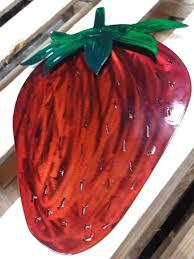 Strawberry Home Decor Custom Strawberry Metal Home Decor Carolina Metal