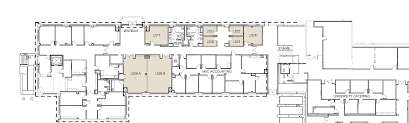 West Wing Floor Plan West Wing Lower Level