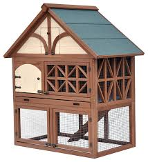 tudor rabbit hutch contemporary small pet supplies by merry