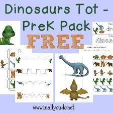 free dinosaur tot prek printable pack multi taskin u0027 mom