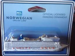 Cruise Ornament Epic Ncl Vtg Resin Cruise Ship Model Cruise