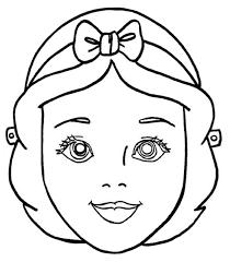 free printable princess mask template masks for acne