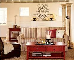 warm design in cozy living room ideas simple corner sofa handmade