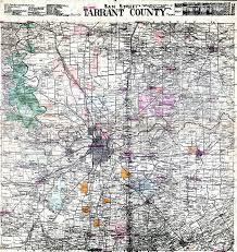 Fort Worth Map The Fort Worth Gazette Sam Street U0027s Great 1895 Tarrant County Map