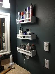 Ikea Bathrooms Designs Best 25 Small Bathroom Shelves Ideas On Pinterest Corner