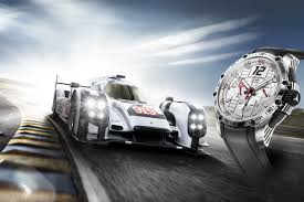 porsche 919 24 hours of le mans with chopard superfast chrono porsche 919