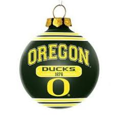 oregon ducks u of o handmade ornaments green yellow crafts